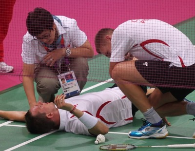 London 2012: Day 3 - Session 2: Injury Pulls Poles Apart