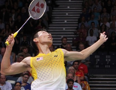 London 2012: Lee Chong Wei takes on ghost of Wembley