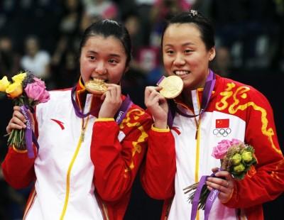 London 2012: Day 8 - Women's Doubles: Double Take for Zhao Yunlei