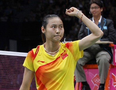 London 2012: Day 7 - Women's Singles Semis: Wang Yihan Routs Nehwal