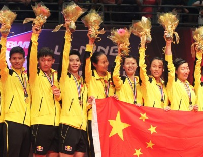 'Fine Nine' - Rampant China Retain Title - Final: Sudirman Cup 2013