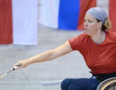 European Para-Badminton Championships 2014 - Swiss Star Strikes Triple Gold