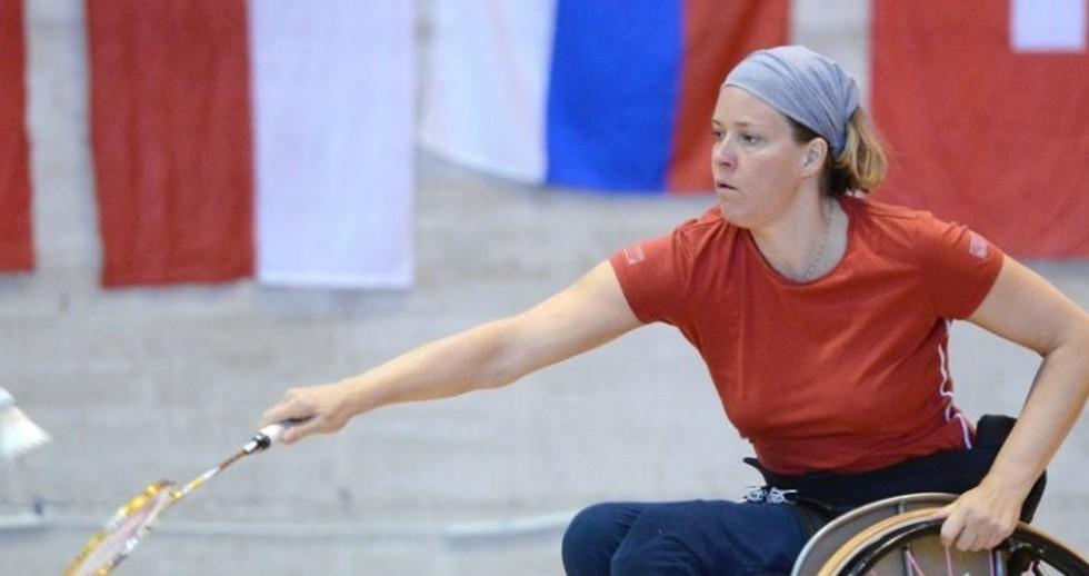 European Para-Badminton Championships 2014 – Swiss Star Strikes Triple Gold