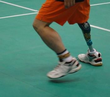 Keen Battle in Asian Para-Badminton Championships