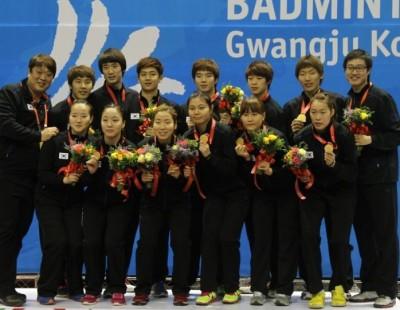 'Team Korea' Rules University Badminton