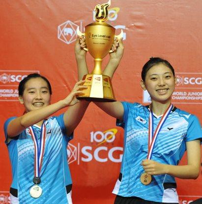 SCG BWF World Junior Championships 2013 – China and Korea Share Spoils