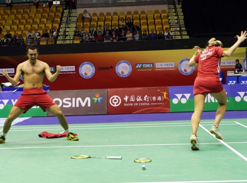 Hong Kong Open 2013: Day 5 – Finals Date for Mr & Mrs Adcock