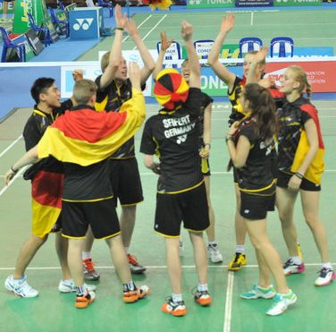 Suhandinata Cup 2014 – Day 1: Germany Survive Stiff Tests