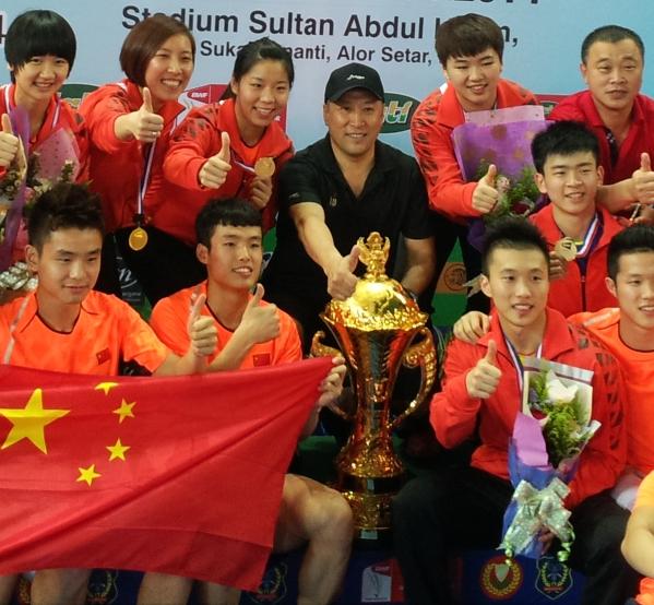 Suhandinata Cup 2014 – Day 5: China Win Ninth Title