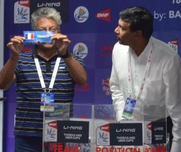 Li-Ning BWF Thomas & Uber Cup Finals 2014: China v Thailand in Thomas Cup Quarter-finals