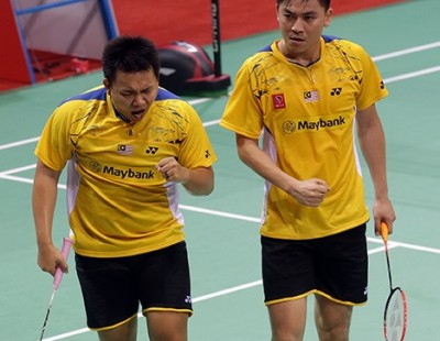 Li-Ning BWF Thomas & Uber Cup Finals 2014 – Day 6 – Session 2: Malaysia Stun Indonesia
