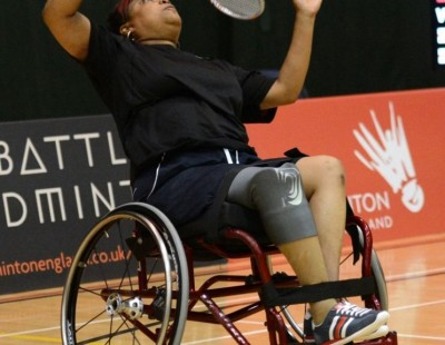 Fabulous Finale to Para-Badminton Clash