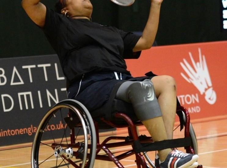 Fabulous Finale to Para-Badminton Clash