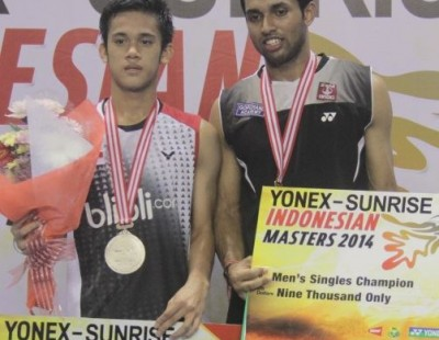 Yonex-Sunrise Indonesian Masters 2014 – Review: Prannoy Wins Maiden Title