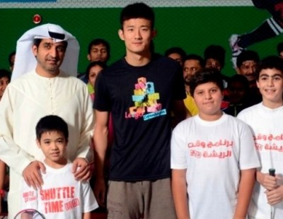 Chen Long Catches Fast Shuttle to Dubai