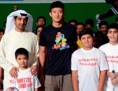 Chen Long Catches Fast Shuttle to Dubai