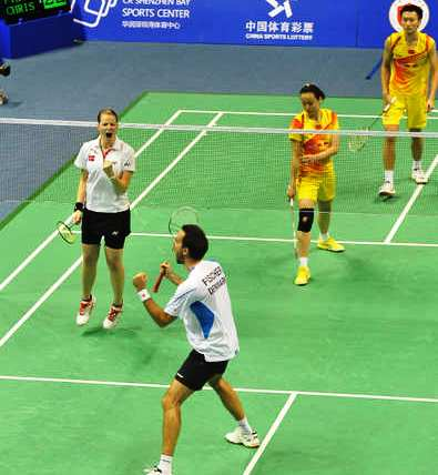 CR Land BWF World Superseries Finals – Day 1 – night: Danes Stun Olympic Champions