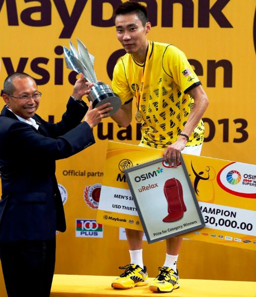 Malaysia Open: Day 6 – Chong Wei – King of Malaysia's Court for Ninth Time