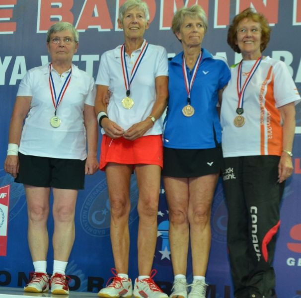 Superb Seniors Excel at World Championships