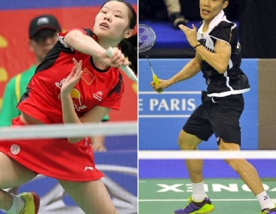 Lee Chong Wei and Li Xuerui Lead Seedings
