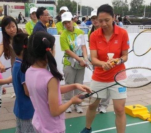 Robertson, Cheng Spread Badminton Gospel