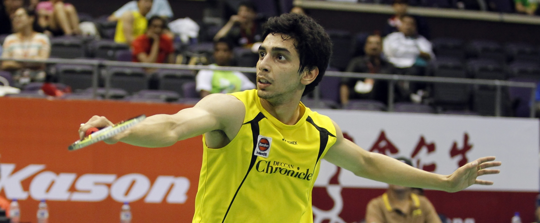 Thaihot China Open 2014 – Day 1: Gurusaidutt Scrambles Into Main Draw