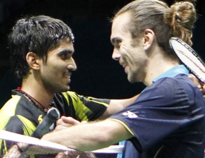 BWF DD WSSF 2014 – Day 3 Session 2: Jorgensen Outplays Srikanth
