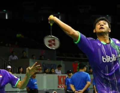 Lee/Yoo Stumble in Quarter-finals – OUE Singapore Open 2015 Day 4