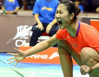 Sun Yu Battles Past Wang Shixian – OUE Singapore Open 2015 Day 5