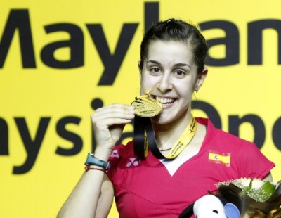 Chen Long, Carolina Marin Crowned Champions – Maybank Malaysia Open 2015 Finals