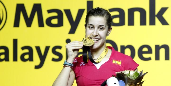 Chen Long, Carolina Marin Crowned Champions – Maybank Malaysia Open 2015 Finals