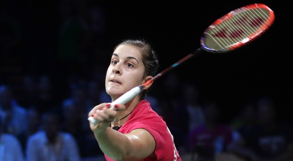 Carolina Marin Early Dubai Leader