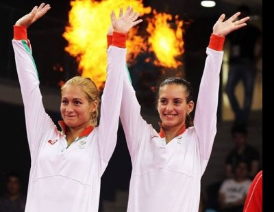 Stoeva Sisters Clinch Gold Medal – Baku 2015 European Games Finals
