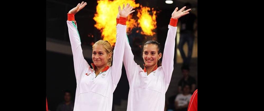 Stoeva Sisters Clinch Gold Medal – Baku 2015 European Games Finals