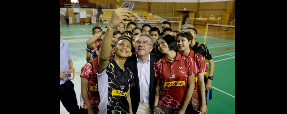 Bach Lauds BWF Integrity and Development
