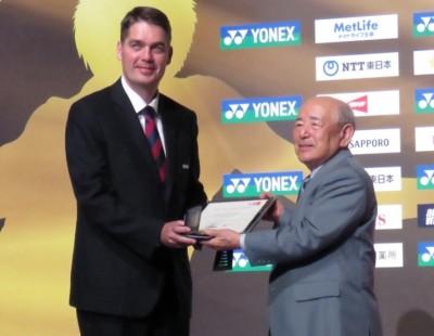 BWF Pays Tribute to Yonex Founder Minoru Yoneyama  Copy