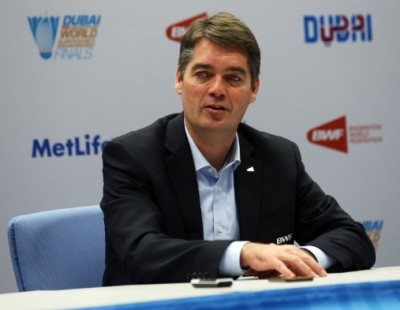 Høyer Praises Badminton Development in Dubai