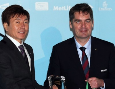 Chen, Marin Crowned BWF Players of the Year