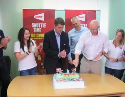 BWF Celebrates 100 'Shuttle Times'
