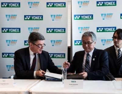 Yonex Renews Partnership with Dubai World Superseries Finals