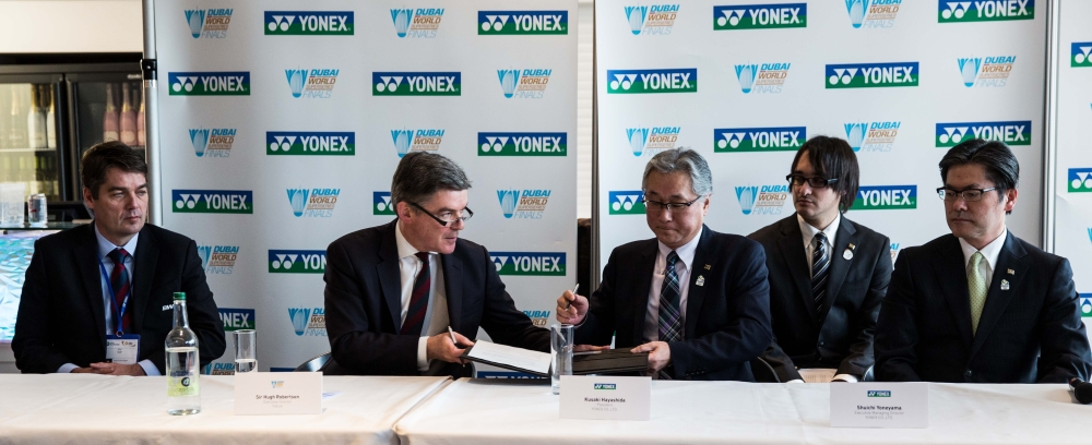Yonex Renews Partnership with Dubai World Superseries Finals