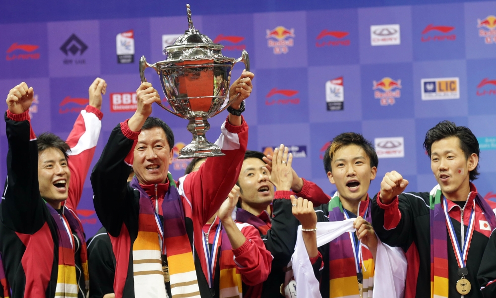 Defending Champions Japan Seeded Th For Thomas Cup