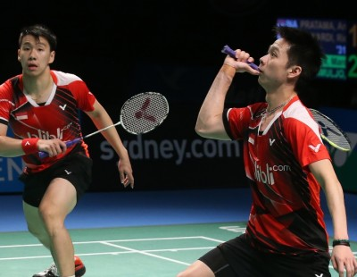 Gideon/Sukamuljo Set the Pace - Destination Dubai Rankings