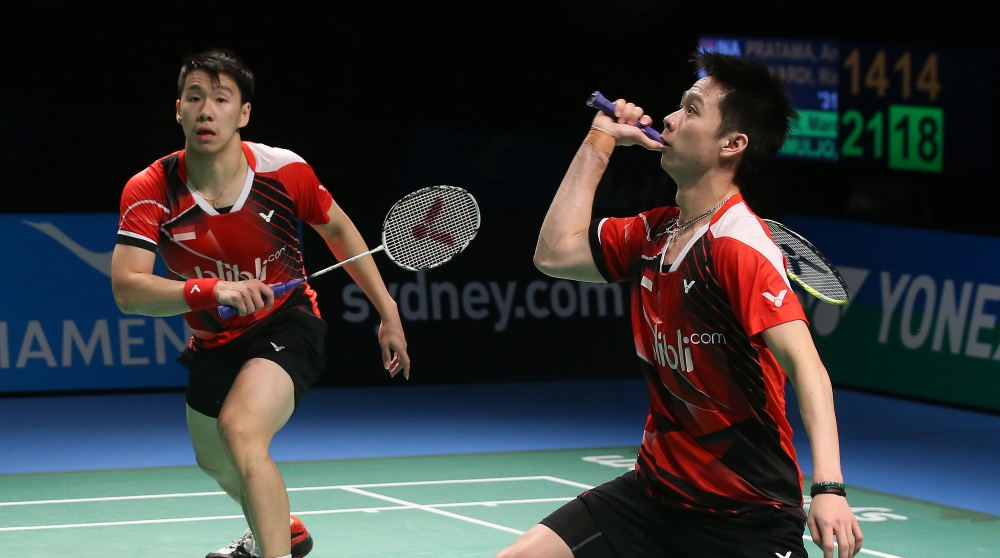 Gideon/Sukamuljo Set the Pace – Destination Dubai Rankings