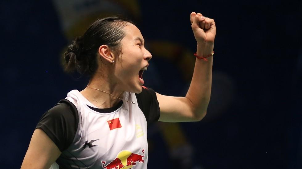 Wang Yihan Surges to No.4