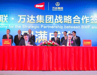 BWF and Wanda Announce Landmark Partnership