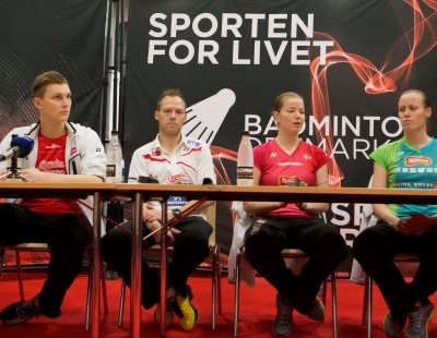 Sweet Stress of Success - Yonex Denmark Open 2016: Day 1
