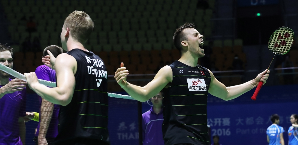 Danes Wriggle Free – Thaihot China Open 2016: Day 2