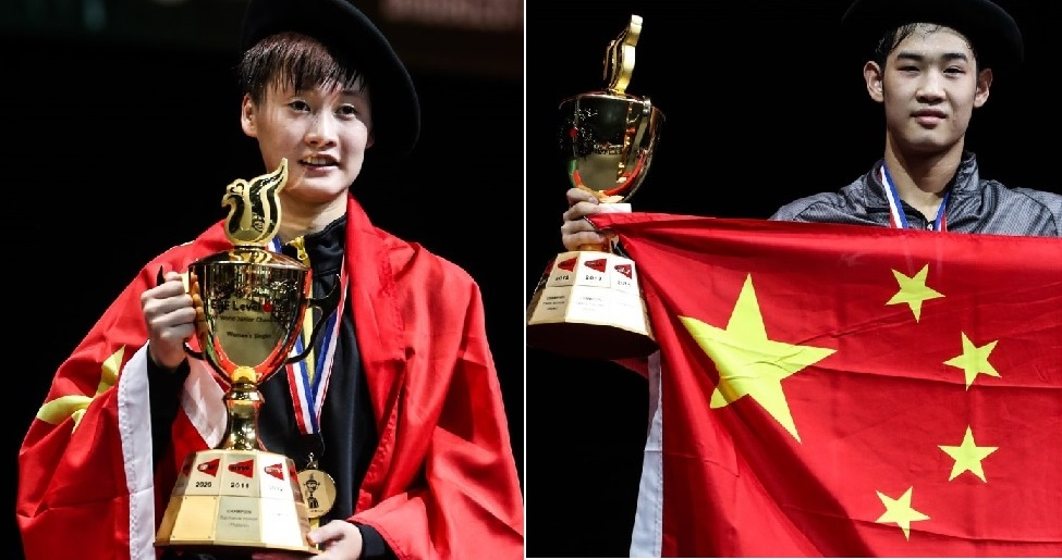 China 'Basque' in Glory – Finals: BWF World Junior Championships 2016