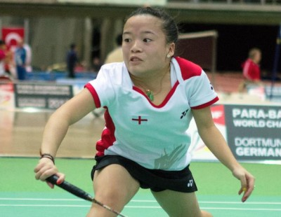 Kims in Three Finals – Spanish Para-Badminton International 2017